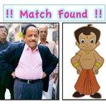 RT@drharshvardhan : I found my match. #YouGotAProblem ? http://t.co/yyrPidQj0L