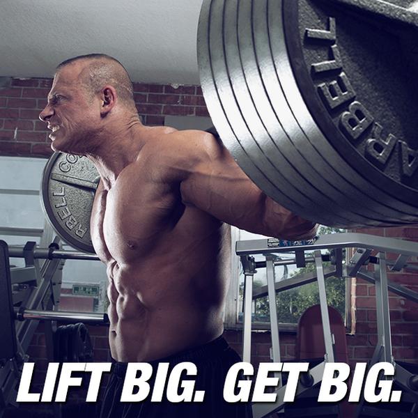 Lift Big. Get Big. #MotivationMonday http://t.co/39qRNmM53i