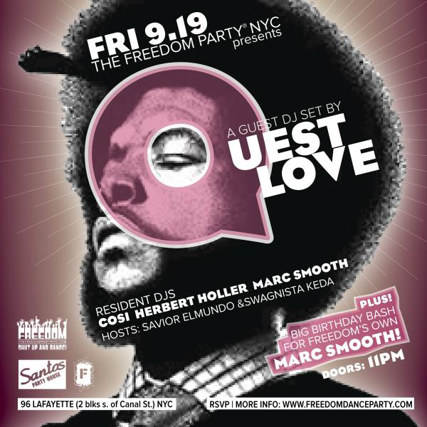 BIG TINGS A GWAN!!! @freedompartynyc @SantosPartyHaus @questlove @ricenpeasparty @FEDERATIONsound THIS FRIDAY!!!!!!!! http://t.co/wUr3W2v68z