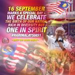 RT @MyPatSeputeh: 16th Sept, marks a special day. The birth of our Nation. | @NajibRazak #HariMalaysia51 @PMOMalaysia http://t.co/ooS0uosppK @REALzakwan95