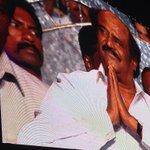 RT @RajeevMasand: Thalaiva himself, superstar Rajnikant, shows up to cheer on his Enthiran dir Shankar at 'I' music launch in Chennai