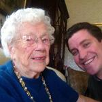 A #selfie with a Vermonter who turned 105-years-old today... Her story tonight on @WCAX http://t.co/iScOzl3Fg0