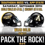 Are you ready for another Game day at the Rock? This Saturday lets make sure we pack the Rock!! #SMTTT http://t.co/xvp00uPWEZ