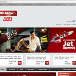 Aagadu is going places in terms of publicity. Beam telecom homepage sports Aagadu trailer now