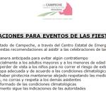 """""""RECOMENDACIONES PARA EVENTOS DE LAS FIESTAS PATRIAS"""" via. @cenecam @ferortegab http://t.co/48iuSaBY0L"""