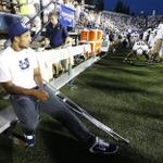 RT @desnewssports: USU football: Chuckie Keeton out for Saturday, but knee is structurally sound http://t.co/jlzmw85UcY http://t.co/clhIAPbVQH