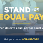 If you agree women should earn #EqualPay for equal work, get your name #OnTheRecord: http://t.co/RFtJHhLmDx