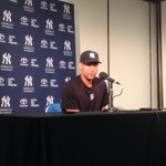 RT @TBTimes_Rays: #Yankees Jeter addressing media at Tropicana Field before last series with #Rays http://t.co/tbIv2V3VmV