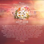 Little late on the lineup due to a very busy week but heres the lineup for EDCO for those who havent seen it! http://t.co/iTJM7JazgZ