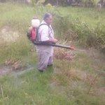 RT @JurisdiccionS1: Aplicación de larvicida en la Ribera del río Hondo #QuintanaRoo @betoborge @fran_uscanga @drjlortegon http://t.co/KXvSORXxhC