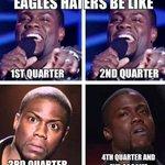 RT @SayGerv: E-A-G-L-E-S Eagles!!!!!! Stop doubting my squad haters! #Eagles #EaglesNation #EaglesvsColts #philadelphiaeagles http://t.co/ob3J4mus6N