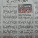 Twitter / @AarefaJohari: Navratri is a religious f ...