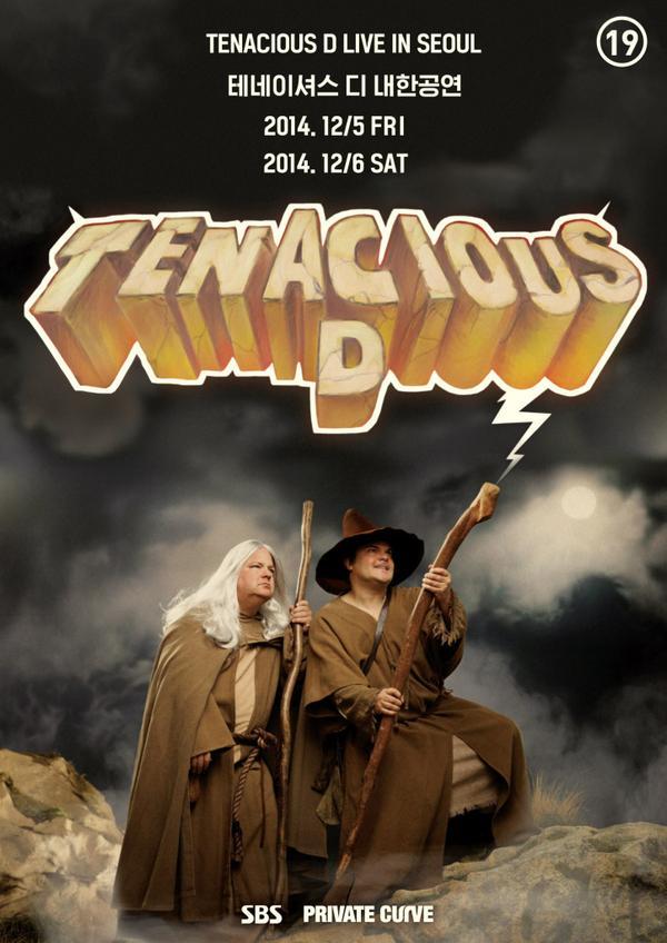 [Tenacious D 내한공연] 잭 블랙이 이끄는 Tenacious D의 뜨겁고 열정적인 무대! 12월 여러분을 찾아갑니다. -예매 및 정보: http://t.co/GjJJZrHrVC http://t.co/YydajaXbwl
