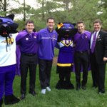 RT @NISG: Were having a great time at Pride Cry with TC, TK, @CoachJake_UNI, and President Ruud! Happy homecoming week! http://t.co/5aWWb1A9gz