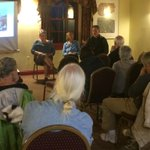 350VT hosts discussion on Tar Sand Healing Walk in June. These three Vermonters attended #vt http://t.co/oS6MuLRdXc