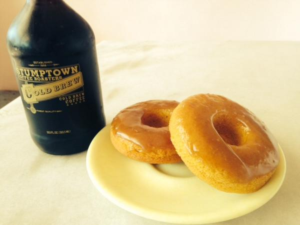 This weekends Larchmont special is our Pumpkin Donut.  Let's all pretend it's not 100 degrees out right now... http://t.co/zokq9Ecs3v