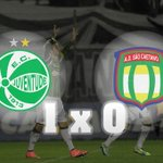 RT @papadanews: FIM DE JOGO! Vitória do Verdão Juventude 1 x 0 São Caetano http://t.co/s52YBzFIIX