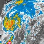RT @David_Korenfeld: Aún como huracán categoría I, #Odile, con vientos de 120 km/h, se ubica a 50 km al oeste-noroeste de Loreto, BCS. http://t.co/0ROFdKQTK7
