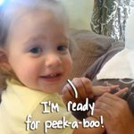 What started as a innocent game of peek-a-boo takes a very hairy turn! http://t.co/M03rP5WzzM
