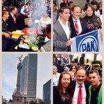 Miles de panistas se dan cita en el Ángel de la Independencia para celebrar a #México y nuestros #75añosPAN http://t.co/jmsQGJnLJE