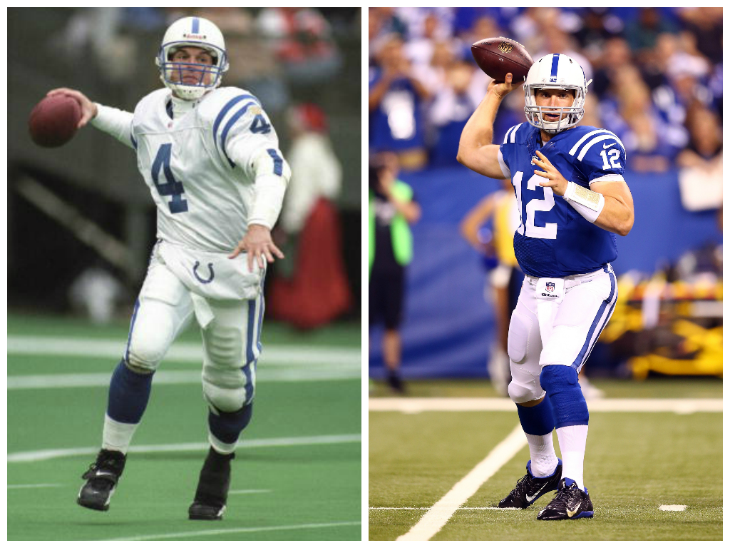 Andrew Luck is now tied with his college coach, Jim Harbaugh, for 4th on the @Colts all-time TD list (49). http://t.co/xRwMqMn9Fn
