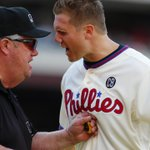 THIS JUST IN: Phillies closer Jonathan Papelbon suspended 7 games & fined for actions in game Sunday. http://t.co/rstKi9JWsB