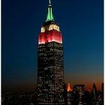 RT @fburgoa: El majestuoso Empire State Building #NY se ilumina tricolor en honor de México y su Independencia #VivaMéxico http://t.co/IIroiM3UUW