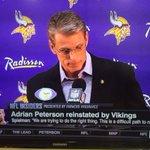 RT @darrenrovell: Radisson, whose logo is on the Vikings press conference banner, has suspended its Vikings sponsorship http://t.co/lvJrZiWqxJ