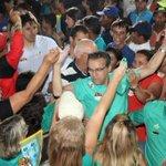 #HenriqueGovernador sai de João Câmara nos braços do povo. Daqui a pouco será em Touros... #É15! http://t.co/xutYiyPE18