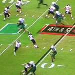 RT @BleacherReport: VIDEO: Arkansas State player plays dead on a fake punt, gets lit up after interception http://t.co/E02J5fmrnn http://t.co/hZm1iCQKT8