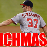 RT @masnNationals: CLINCHMAS EVE: The Nationals are one win over the Braves away from clinching the NL East! #IBackTheNats http://t.co/e7TYT45XDb