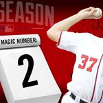 RT @Nationals: Magic number: 2! #Nats #NLEast #ItsHappening http://t.co/mk5Uz6BE5K