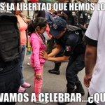 RT @GastosPendejos: ¿Estas son las libertades que hemos alcanzado? El zócalo cercado x el miedo de EPN q hace q los niños sean revisados. http://t.co/yYTHCzXuti