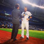RT @RaysBaseball: .@TheZobrists gets some face time after the game-winning hit! #RaysUp http://t.co/4GGgALEdfB
