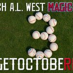 RT @Angels: After locking in a #Postseason spot, our Magic Number to clinch the division is 3! #GetOctobeRED #WeWantTheWest http://t.co/7SQpBcfTze