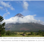 RT @rapplerdotcom: Impending Mayon eruption a potential tourist draw: http://t.co/HDyTULDEZy http://t.co/XfuuMH8oXB