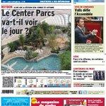 Le Center Parcs verra-t-il le jour à Roybon?... à la une du Dauphiné Libéré de ce mardi, édition de Voiron http://t.co/8fbrqT1ya9