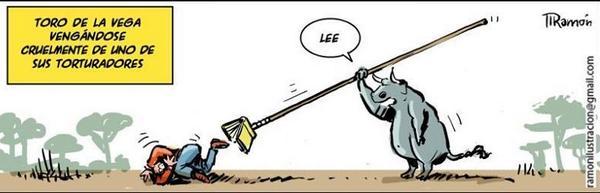 La venganza del toro de la Vega http://t.co/zvFGk2De88