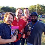 RT @FarOutQld: @BusbyMarou in da house! Not long before the boys rock #TropicalJam - thanks so much for dropping by fellas! http://t.co/lv0vmguh2K