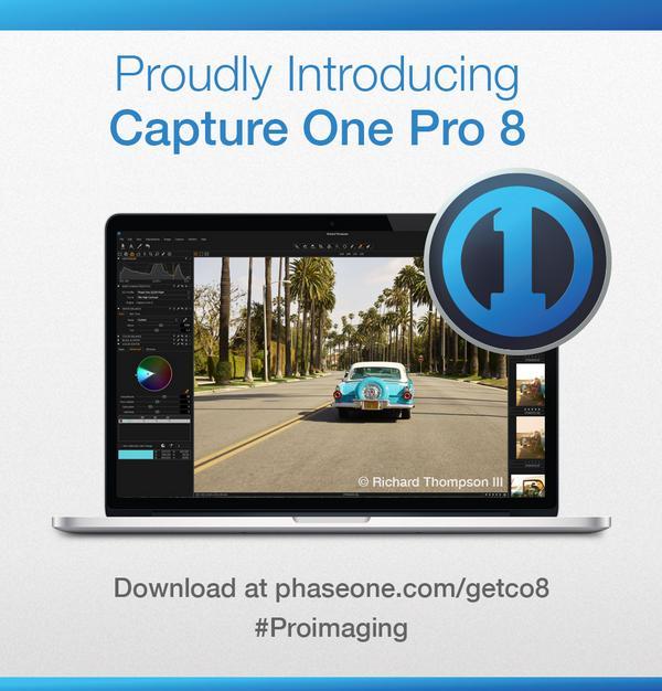 #CaptureOne Pro 8 has been released. #proimaging  Download here: http://t.co/FEdmtDLtte http://t.co/6MraazLWw9