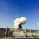 Fatalities reported from Kabul blast. https://t.co/Q3xURqkJMS #Afghanistan