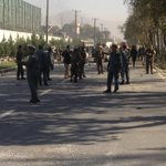 #Kabul explosion picture,  the target is a foreign convoy but most of victims are civilian cars http://t.co/0IQMbQ8Snt