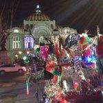 Banderas, banderas con Bellas Artes hermoso. #VivanLosMexicanos http://t.co/n4nI2dFOoJ
