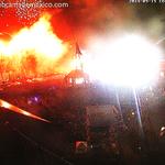 La pirotecnia en este momento en el Zócalo de la Ciudad de Mexico: http://t.co/ETYVBQG2Vg