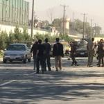 RT @SultanFaizy: #Kabul blast scene. It was a suicide bombing close to new Kabul compound military base. #Afghanistan http://t.co/8VrxxLVKFR