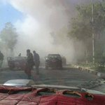 Photo of heavy suicide attack near supreme court #Kabul #Afghansitan http://t.co/Rt198V9sVQ