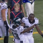 """Dynamic Duo: LeSean McCoy & Darren Sproles combine for 280 total yards & 2 TDs in """"W"""" vs. Colts #6abcEagles http://t.co/4GBcnrxWhm"""