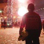 @BomberosOaxOfic brinda seguridad durante el #GritoDeIndependencia. @GabinoCue @AlbertoEsteva #Oaxaca http://t.co/bfF6x9UTow