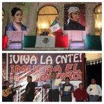 ¡VIVA MÉXICO! Celebremos la sublime connivencia en el Zócalo de Oaxaca, que al cabo los dos poderes dieron El Grito. http://t.co/mysDmYEpfS