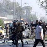 RT @TOLOnews: Suicide Car Bomber Targets Foreign Troops in #Kabul http://t.co/jnzlKzNre7 http://t.co/M0YKV2N8qF